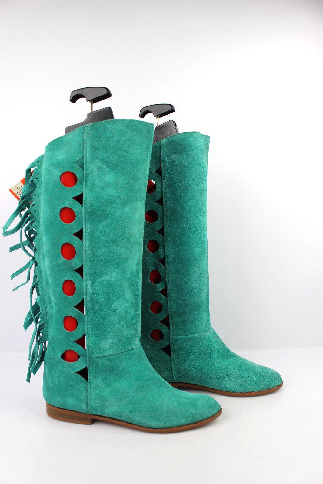 Stiefel CHISAN mintgrün Wildleder mintgrün CHISAN T 36 sehr guter Zustand 7c0c5c