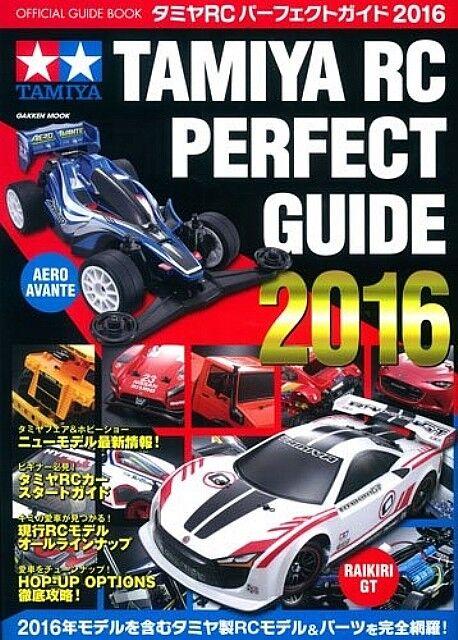 Tamiya Tamiya Tamiya RC Perfect Guide Book 2016 Japanese 3511e7