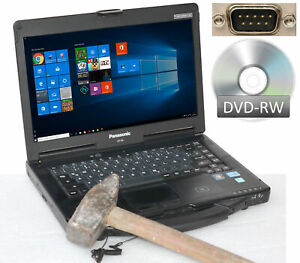 Panasonic Toughbook CF53 i5 CPU SSD HDD Notebook Sturdy WINDOWS10 Pcmcia RS-232