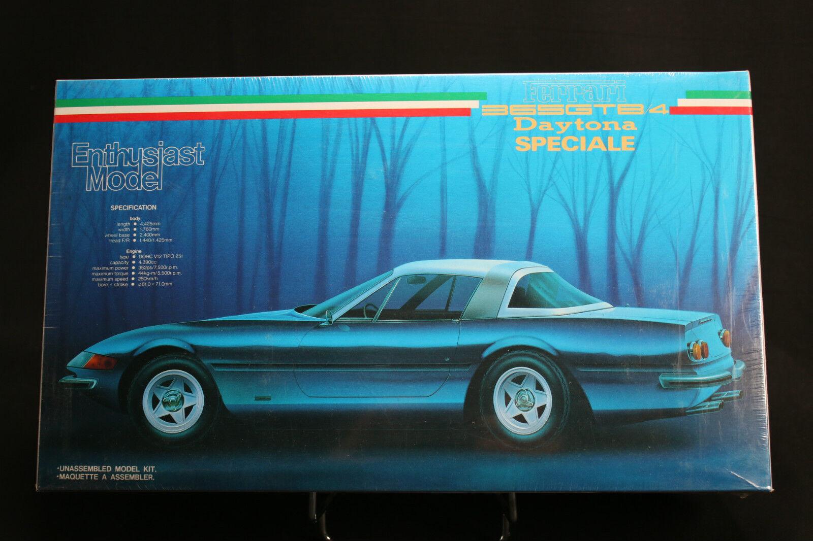 Xa015 fujimi 1 24 model car 08102 1800 ferrari 365gtb4 daytona special