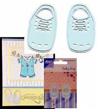 Baby metal cutting dies BOY SHOES die set 6002/0212 Joy Crafts shower,invitation