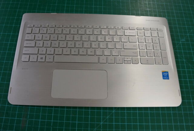 HP ENVY x360 M6-W 15.6 Palmrest Touchpad Keyboard Backlit 460.04806.0002 Grade B