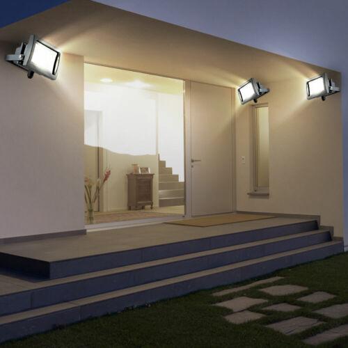 3er Set Portatile a LED Lampada da parete illuminazione esterna girevole 10 W BxH 11,5x15 cm