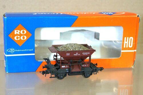 ROCO 4334A DB Schotterwagen HOPPER WAGON with MINERAL LOAD 2415 MINT BOXED ne