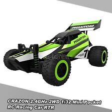 HOT CRAZON 1/32 Mini Pocket RC Racing Car 2.4G 2WD RTR Buggy Stunt Car Toys R3N0