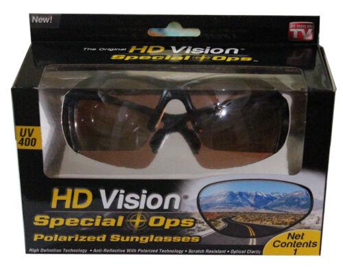 Original Harley Davidson Vision spécial Ops Lunettes de soleil polarisées Amber Lens UV400-LIVRAISON GRATUITE