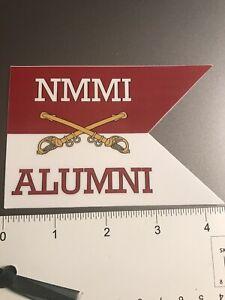New Mexico Military Institute NMMI sticker
