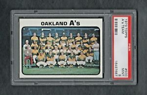 1973-TOPPS-500-OAKLAND-A-039-S-TEAM-PSA-9-0-MINT-CENTERED-SALE