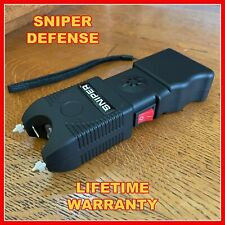 Sniper Stun Gun 690 Bv Heavy Duty Rechargeable Led Flashlight Military Grade