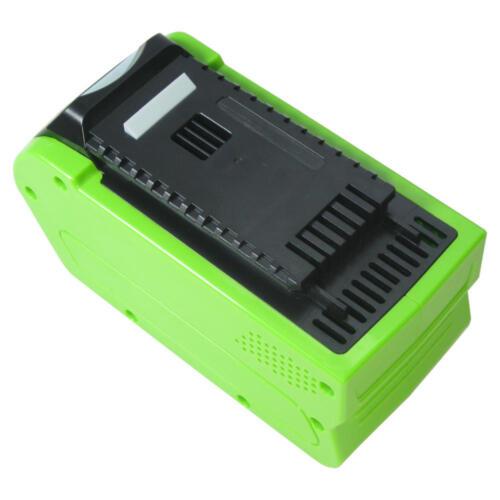 Li-Ion AKKU 40V 4000mAh ersetzt Greenworks Tools G-MAX 29282 20302 29727