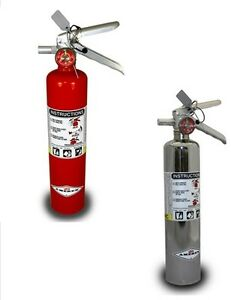 DragonFire Racing 2.5 Lbs Fire Extinguisher Red 14-0053