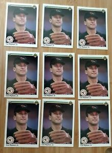 LOT OF 9 1990 Upper Deck CAL RIPKEN Jr Baseball Card #266 MINT! HOF PSA #266 NEW