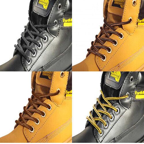 Shoe Boot Laces 120cm - Black Grey Tan