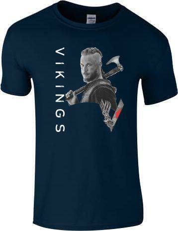 Vikings T Shirt World Tour Ragnar Lothbrok lagertha Rollo Floki Top Men Ladies