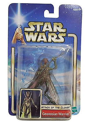 Star Wars 2002 SAGA Deluxe Flying Geonosian Warrior Action Figure Loose AOTC
