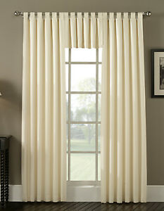 in curtain top compressed window n tw semi natural b curtains tab x faux treatments opaque beige drapes yg panel linen l twist