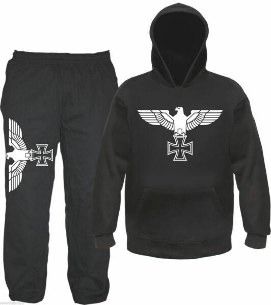 100% De Calidad Águila Imperial Chándal - Sudadera Con Capucha Y Pantalón - Cruz De Hierro