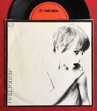 "U2 - I Will Follow - Irish 'Red' CBS label 7"" +Picture Sleeve (Vinyl Record)"