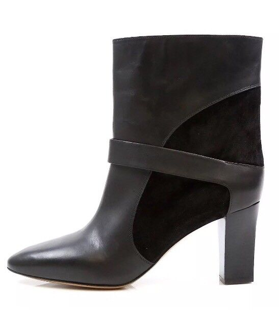 Chloe Women's Classic Mid High Ankle Boots Leather Suede 25260 Size 40  995