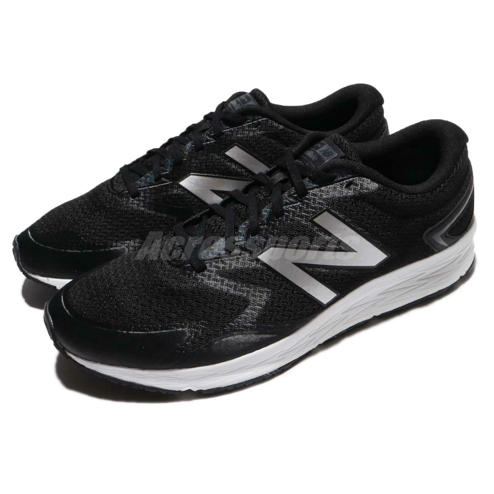 New Balance MFLSHLP2 D Black White Silver Men Running shoes Trainers MFLSHLP2D