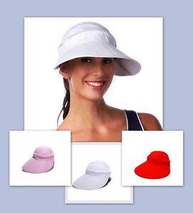 WOMEN-039-S-SUN-PROTECTION-HAT-VISOR