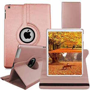 Leather-360-Degree-Rotating-Smart-Stand-Case-Cover-For-APPLE-iPad-Air-4-3-2-mini