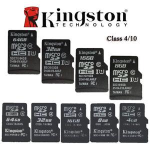 Kingston-4GB-8GB-16GB-32GB-Micro-SD-Karte-Card-SpeicerKarte-Class-4-Class10