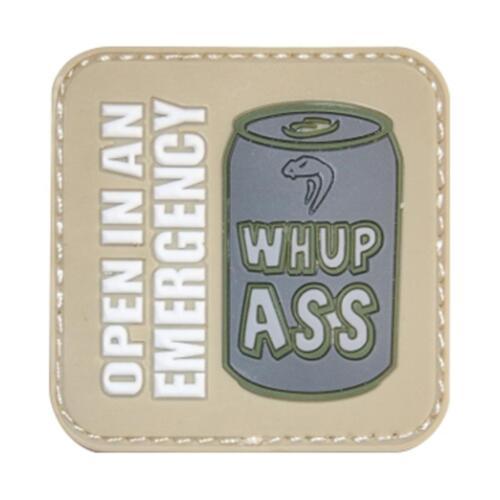 Airsoft Patch moral Viper /'whupass/'s Rubber Patch