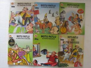 Details about MOTU PATLU ENGLISH LOT OF 8 COMICS Diamond India-92c