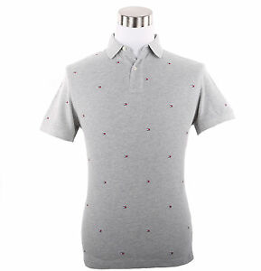 Tommy Hilfiger Men Short Sleeve Custom Fit Polyester Polo Shirt 0