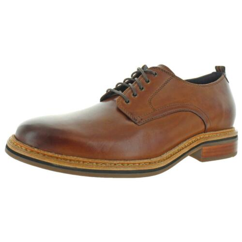 Details about  /Cole Haan Mens Frankland Leather Lace-Up Flats Oxfords Shoes BHFO 3196