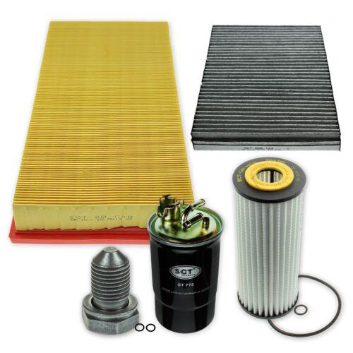 Filtre Paquet//jeu//Jeu de filtres m68803xxl Seat pour 1,9 TDI Audi Skoda