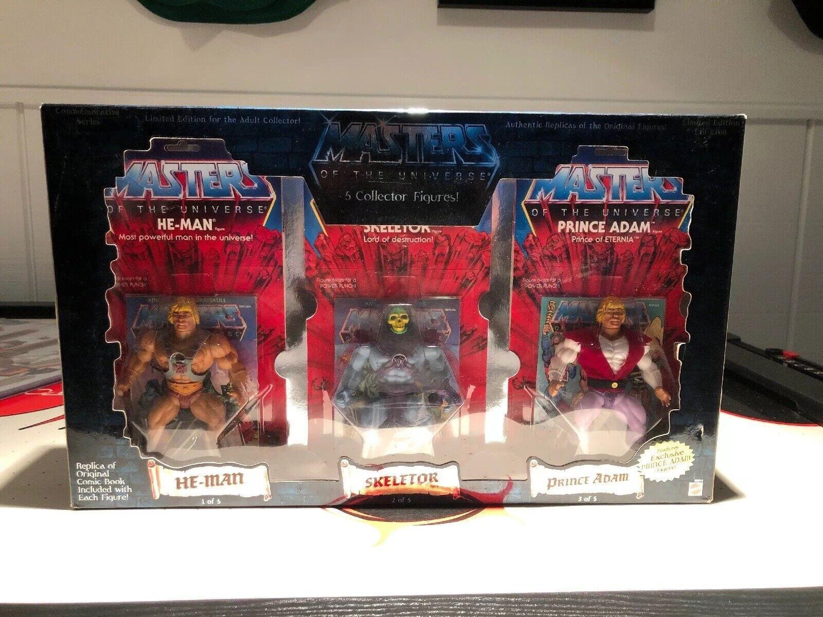 Masters Of The Universe He-Man - Set 1 of 8000 - Skeletor Beast Man - RARE