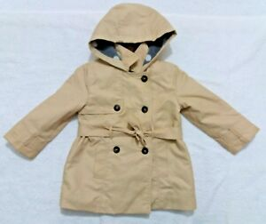 696f0d161 Zara Baby Winter Coat Outerwear Solid Baby Girl Toddler Khaki Color ...