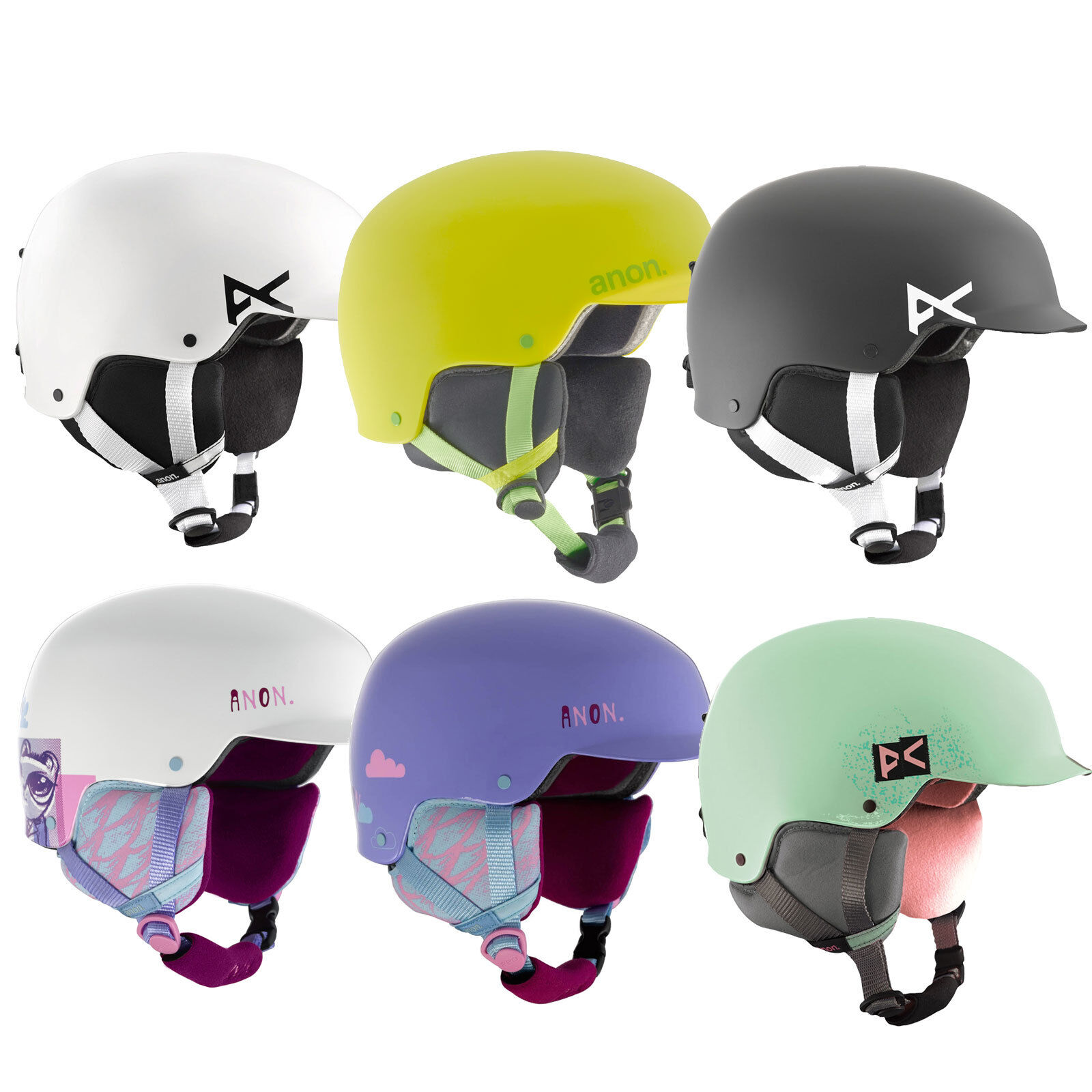 Anon Scout Kinder-Snowboard-Ski-Helm Snowboardhelm Skihelm Predektion Junior   all in high quality and low price