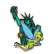 RARE LE 250 Disney Pin✿Tink Tinker Bell Monument New York City Statue Liberty LE