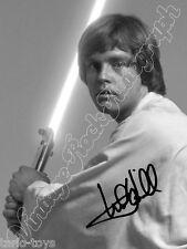 MARK HAMILL - Luke ,Star Wars - print signed photo - foto con autografo stampato
