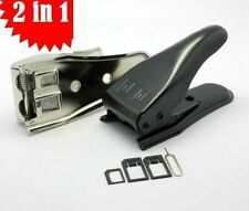 Dual Sim Cutter to cut Micro / Nono sim for samsung Iphone 5 with sim adapter