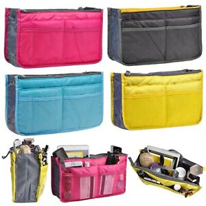 Medium-Purse-Organizer-Insert-Pack-Women-Travel-Set-Handbag-Liner-Tidy-Dual-GIFT