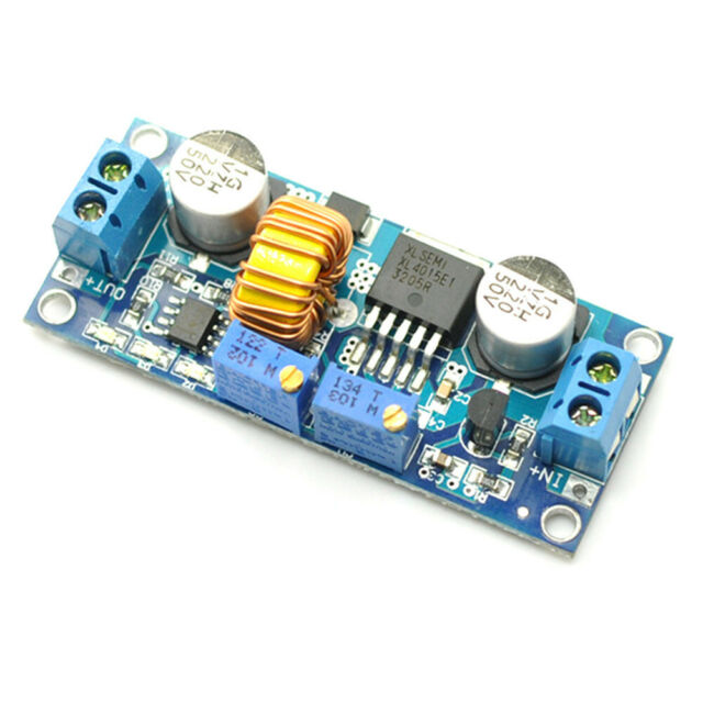 XL4015 DC-DC Voltage  Buck Converter 5A 4-38v Input to 1.25V-36V