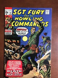 Sgt-Fury-79-1970-7-0-FN-Marvel-Key-Issue-Bronze-Age-Comic-Book-Stan-Lee
