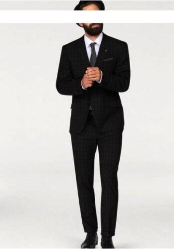 Bruno Banani Vestito Set l-gr.94, 98,106 NUOVO UOMO ANTRACITE Business srotolati Pantaloni
