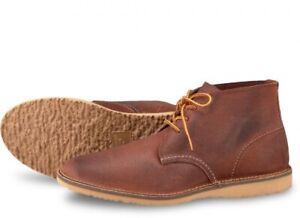 Zu Collection Red Maple Chukka Details Brown Wing Shoes Mens 3326 Weekender dQCshtrx