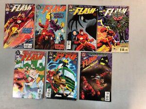 Lot-Run-Of-7-Flash-Comics-101-102-103-104-105-106-107-DC-Waid