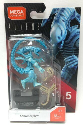 Mega Construx Heroes Aliens Blue XenomorphSeries 5