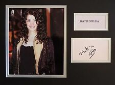 KATIE MELUA - SINGER/SONGWRITER - SUPERB SIGNED DISPLAY - COA - IN-PERSON