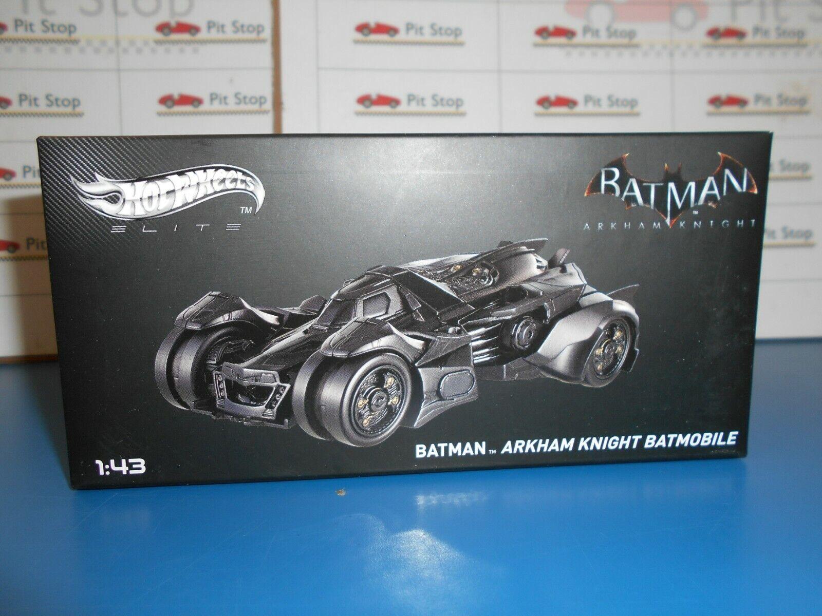 Hwebly 30 by Hot Wheels Elite Batmobile Batman Arkham Knight 1 43
