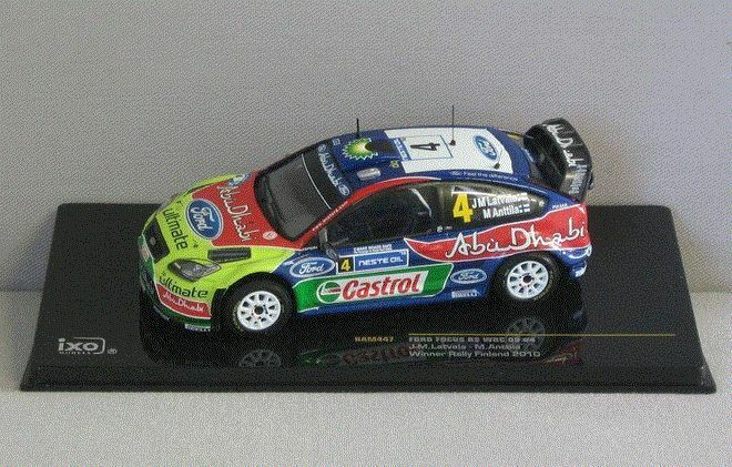 Ford Focus RS WRC 09 Winner Rally Finland 2010 - 1 43 - IXO Models