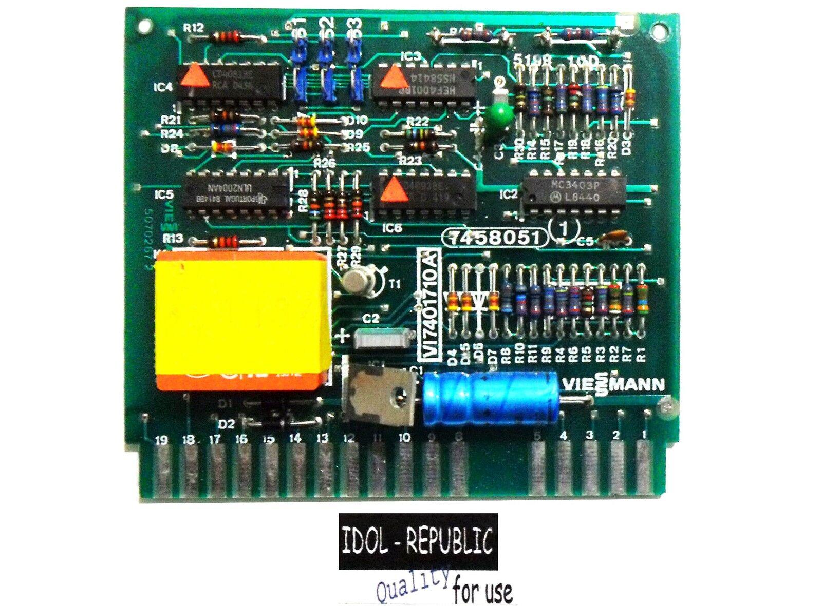 Viessmann ZK2/M-A Platine 7401710A - 7458 051 - Tetramatik - 7401710 A - 7458051