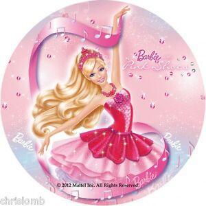 Cialda barbie ballerina decorazione torta ostia o zucchero for Decorazione waffel